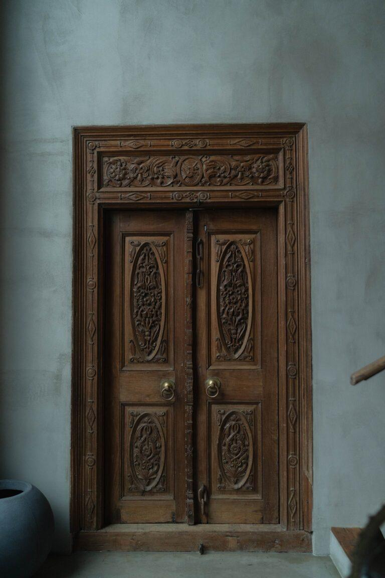 la porte symbole de protection magique