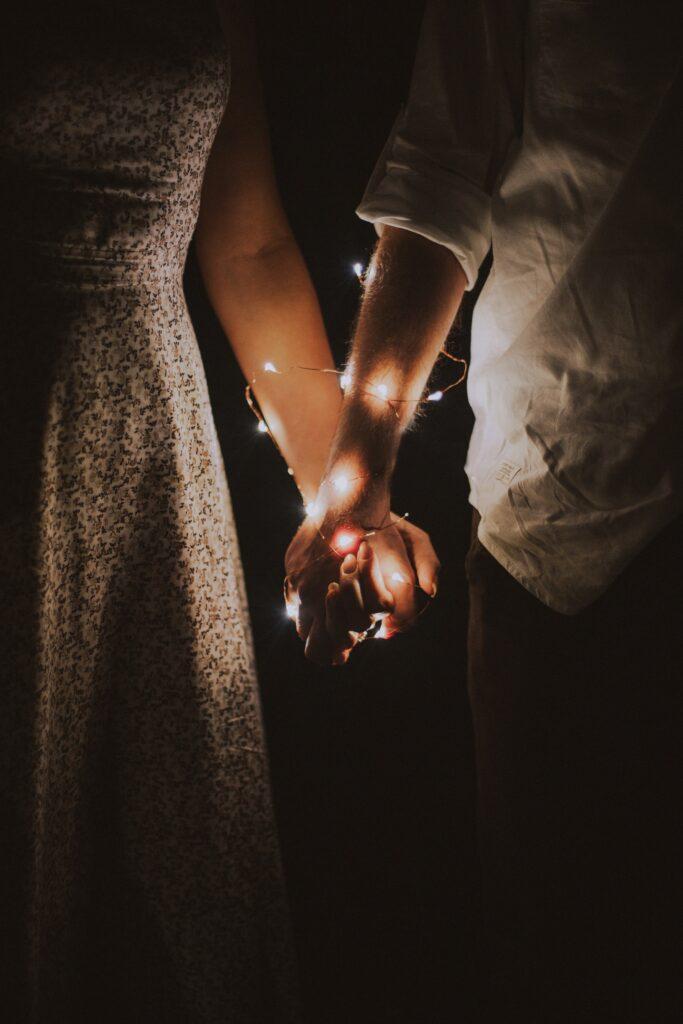 couple amour et rituel magique